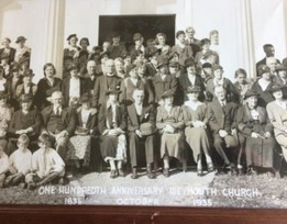 Weymouth Community Church 1935 church members