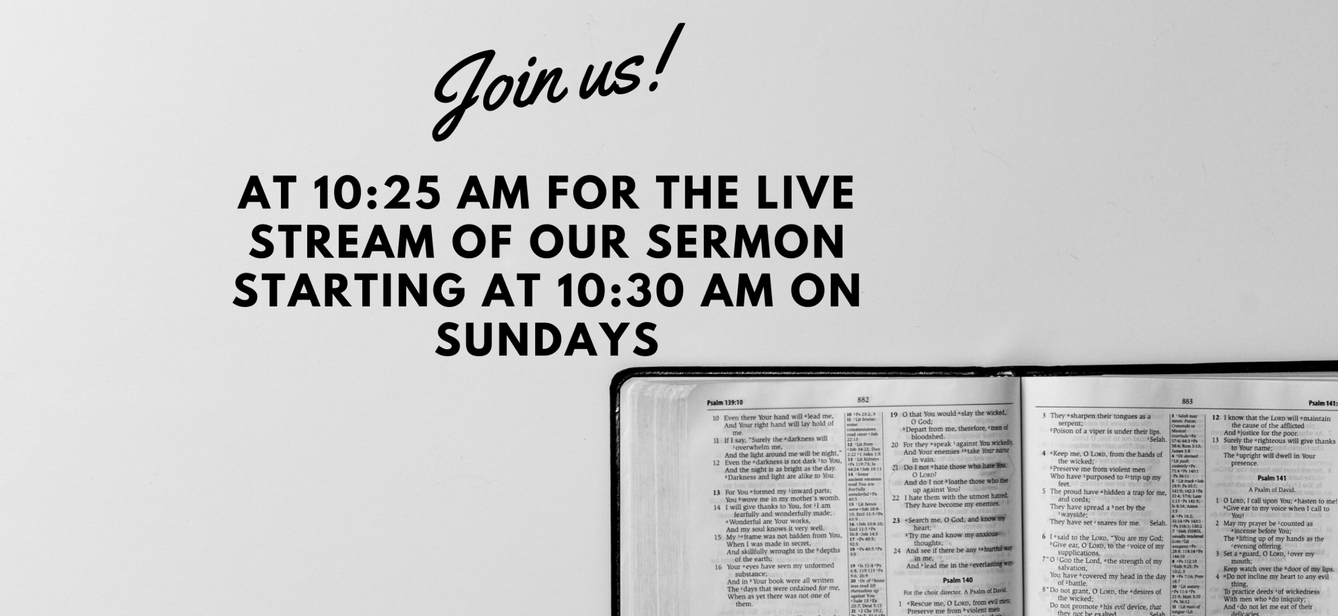Weymouth Community Church Live Sermon